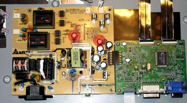 diagnostyka i naprawa monitorów LCD