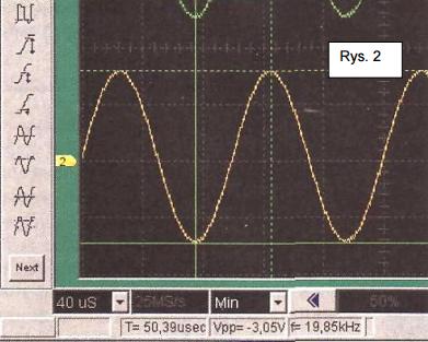 zakres pomiarowy oscyloskopu