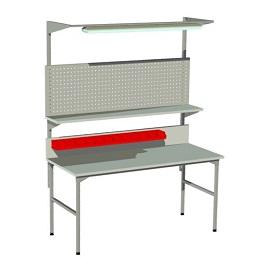 stół montażowy ze ścianką perforowaną