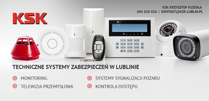systemy zabezpieczeń KSK Lublin