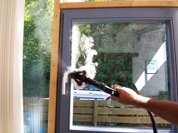 czyszczenie okna myjką profesjonalną