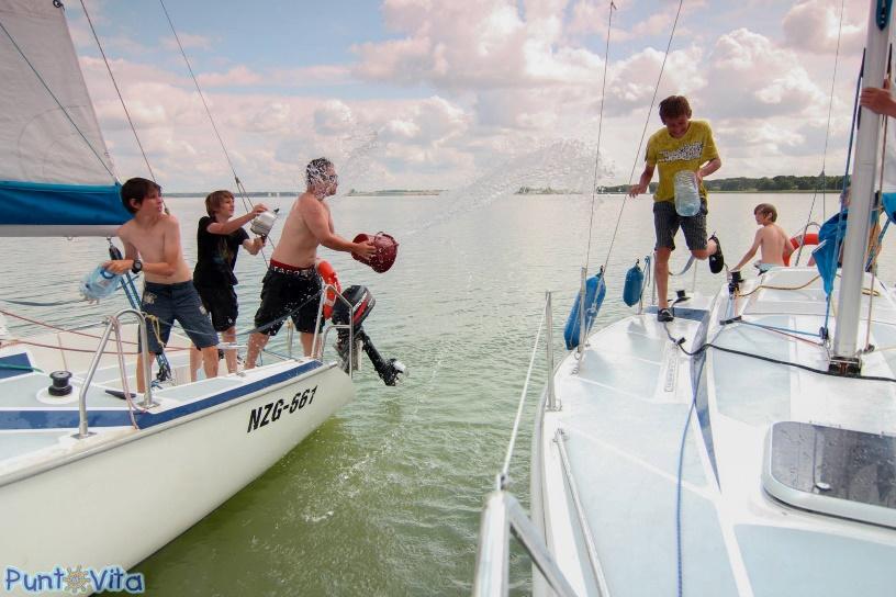 żeglarstwo to dobra zabawa