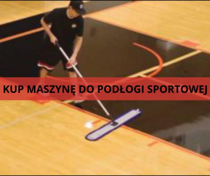 maszyna do czyszczenia podłogi sportowej