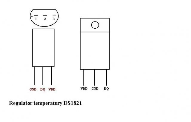 regulatory temperatury ds1821