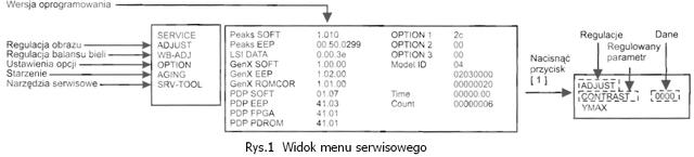 Telewizory OTVC plazma chassis GPH1ODE firmy Panasonic